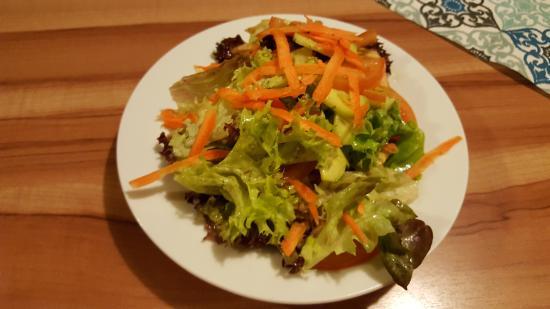 Kappel-Grafenhausen, Germania: Abendessen, gemischter Salat
