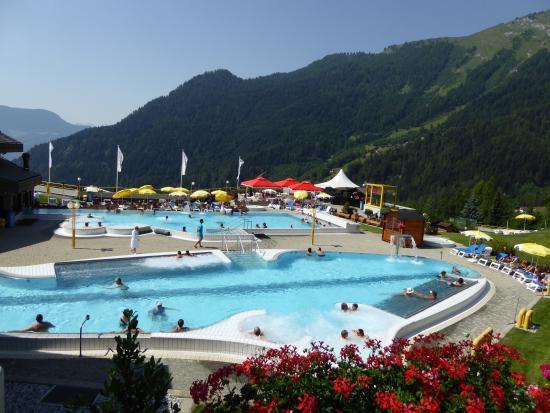 Couple aux bains photo de hotel des bains d 39 ovronnaz for Hotel des bains saillon suisse