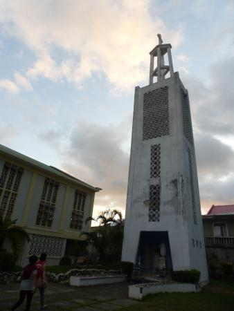 Oriental Mindoro Province, Filippinerna: The Belfry of St. John the Baptist Church
