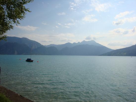 Alpes austríacos, Austria: озеро