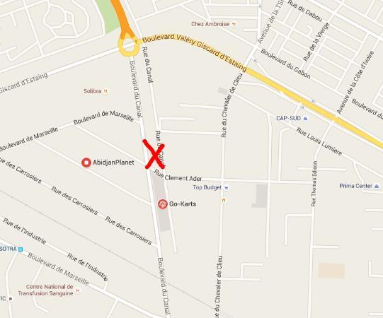 CAVA - Centre Artisanal de la Ville: Location