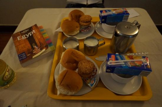 Pension Roma: Breakfast prepared for us