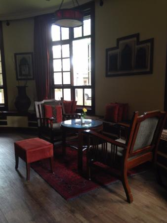 The Baobab Restaurant: Sitting room, good for coffee