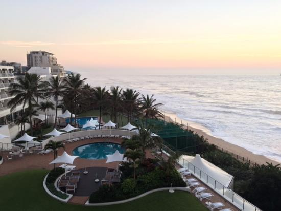 uMhlanga Sands Resort: View from my room on the 4th floor