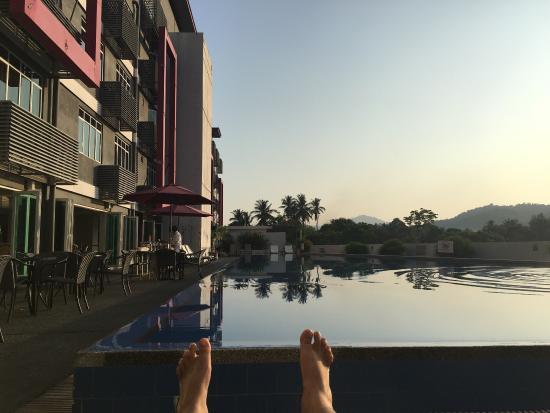 favehotel Cenang Beach - Langkawi: it was awesome morning!