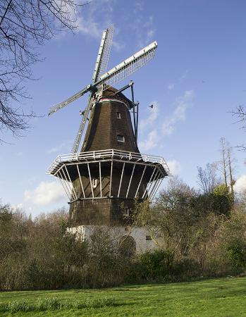 Houseboat under the Mill: This is the windmill from which the houseboat takes its name