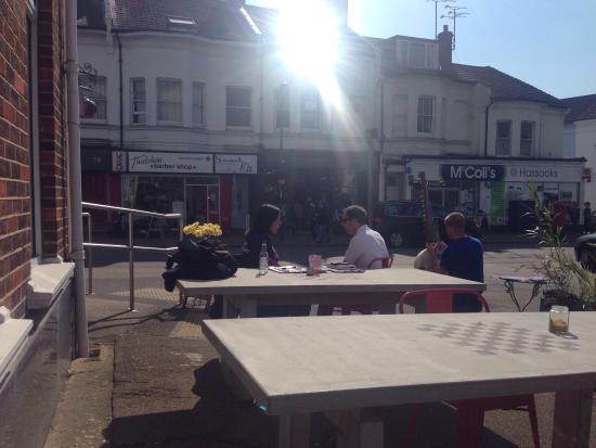 Hassocks, UK: Outdoor st