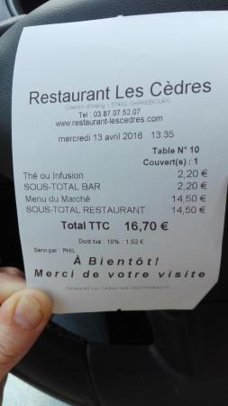 Restaurant Les Cèdres Photo