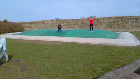 Lalandia Resort: Air beds play areas