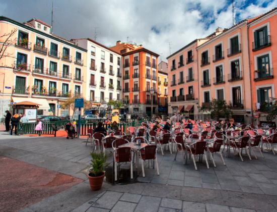 Calle Manuela Malasaña - Picture of Malasana, Madrid ...