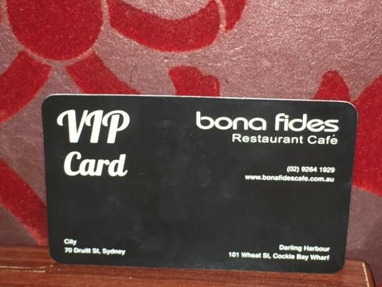 Bona Fides Cafe Restaurant: photo6.jpg