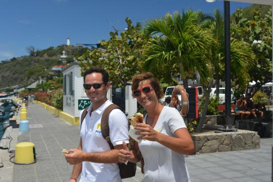 Oyster Pond, St. Maarten-St. Martin: Our Awesome Crew! Alex and Thomas.