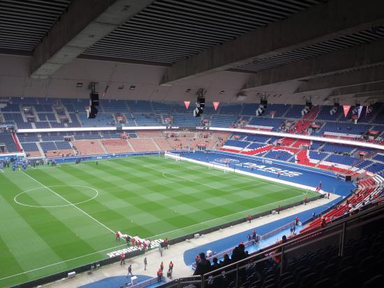 Parc Des Princes Section 404 Row 25 Seats 15 17 Picture Of Parc Des Princes Paris Tripadvisor