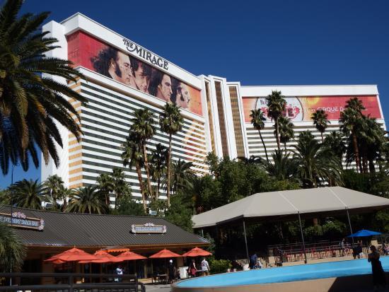 Mirage March 2016 Picture Of The Mirage Hotel Casino Las Vegas Tripadvisor