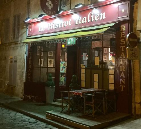 picture of le bistrot italien senlis tripadvisor. Black Bedroom Furniture Sets. Home Design Ideas