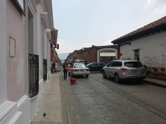 La Ensenanza, Casa de la Ciudad: Fachada