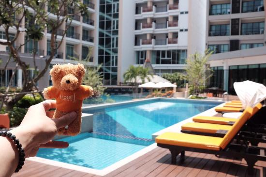 J Inspired Hotel Pattaya Very Nice And Salted Pool Water I Really Enjoy My