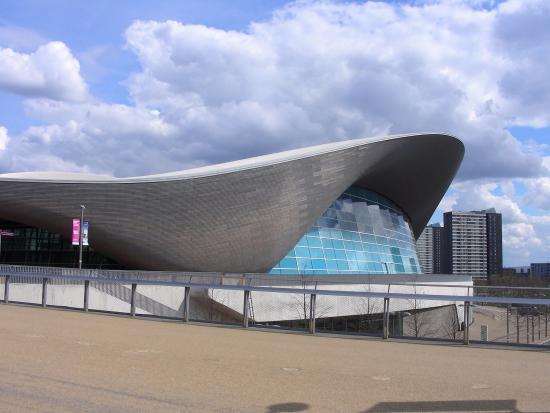 London Aquatic Centre Car Park