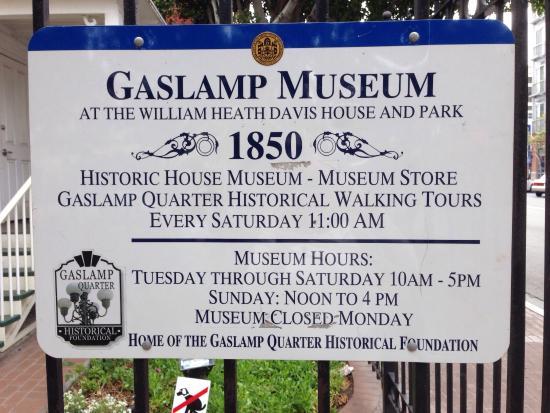 Gaslamp Museum at the Davis-Horton House: photo0.jpg