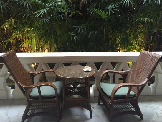 morning coffee on shared veranda view from my door picture of rh tripadvisor com sg