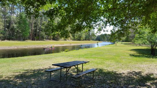 The Campsites at Disney's Fort Wilderness Resort: Canoeing