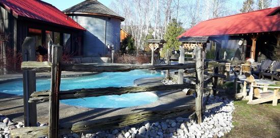Scandinave Spa at Blue Mountain: Spring 2016