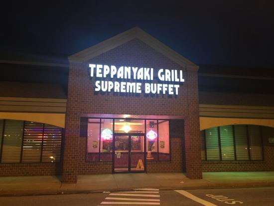 front entrance picture of teppanyaki grill supreme buffet bear tripadvisor. Black Bedroom Furniture Sets. Home Design Ideas