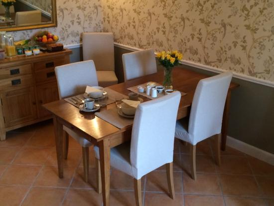 La Crepelliere: Dining room