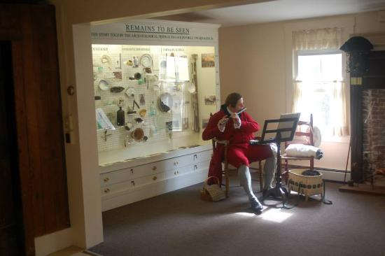 Weston, MA: Remains to be seen display of artifacts from archaeological digs