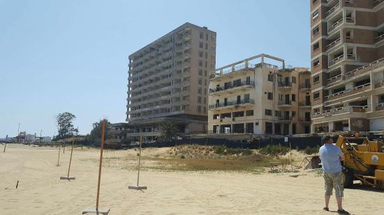Distriktet Famagusta, Cypern: If your thinking of any trips to do book through Mr John he lived there in 1974 and has experien
