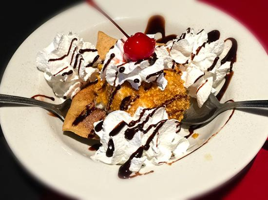 Corrales, NM: Fried Ice Cream