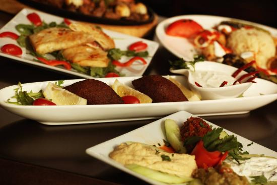 Hot and cold appetizers picture of ali baba turkish for Ali baba turkish cuisine