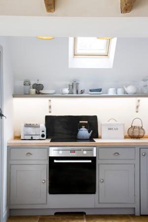 Gardeners Cottage Alstonefield Manor kitchen