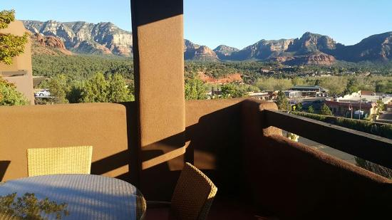 Hyatt Residence Club Sedona, Pinon Pointe: view from terrace