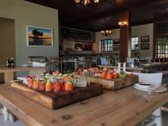 De Noordhoek Lifestyle Hotel: Sushi