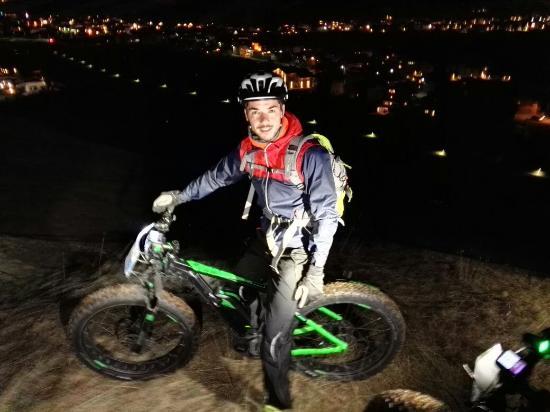 Guide Mountainbike Livigno: Fat bike con Francesco!! Spettacolo!