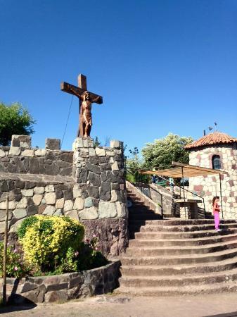 San Felipe, Chile: principal atracción del lugar, vale la pena la pequeña subida. Es muy lindo y tranquilo.