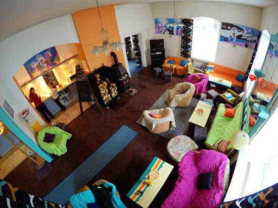 Yetti backpacker: Lounge