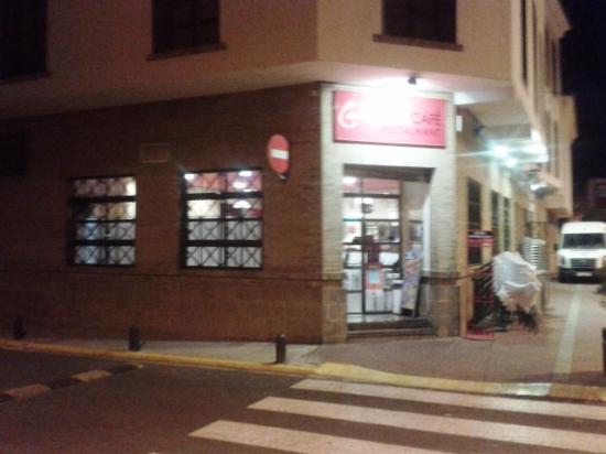 Alcudia, Spanje: Entrada restaurante