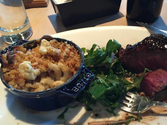 Ellerbe Fine Foods: Steak with Mac n Cheese