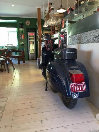 Balnarring, Australia: The old Vespa