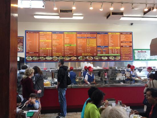 San Mateo, كاليفورنيا: Extensive Menu