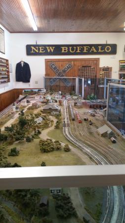New Buffalo, MI : model train