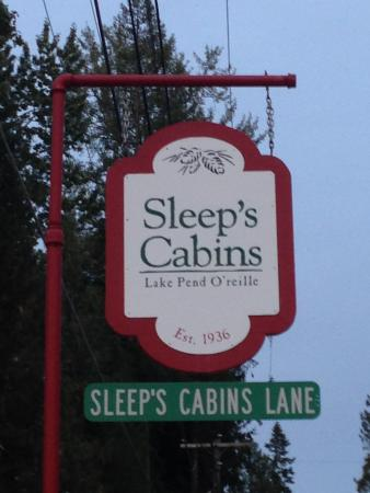 Sagle, ID: Sleep's Cabins