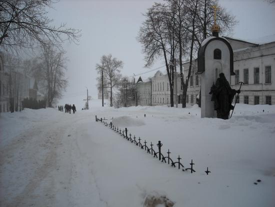 Kalyazin, Rosja: Перспектива улочки