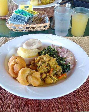 El Greco Resort: Breakfast.... it was delicious