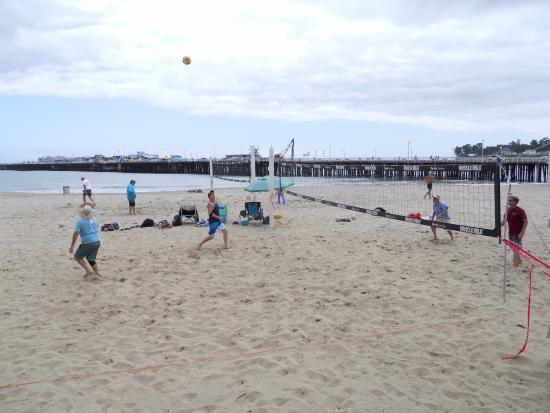 Santa Cruz Main Beach Volley