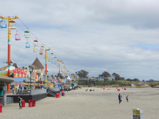 Santa Cruz Main Beach Plage Et Parc D Amut Génial