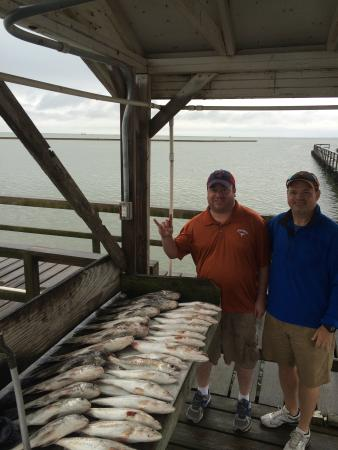 Rockport, TX: What a good catch!!