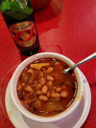 Angleton, Teksas: Bean Soup & Beer